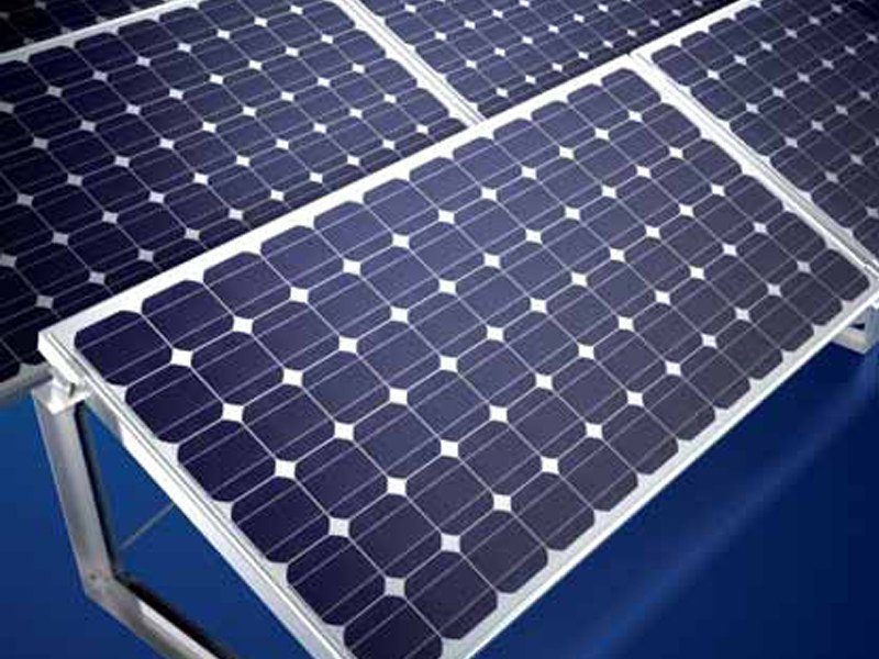 Support for photovoltaic system MSE 210 per tetto piano OneTurn by Schüco