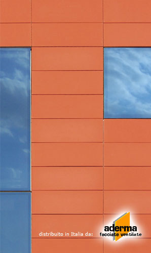 Ventilated facade FAVETON by AdermaLocatelli