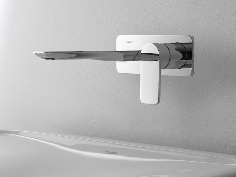 Wall-mounted washbasin tap SENTO | Wall-mounted washbasin tap by Graff Europe West