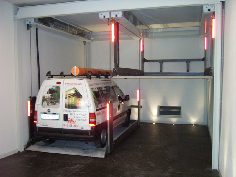 Automatic parking systems ACO-S by CARMEC