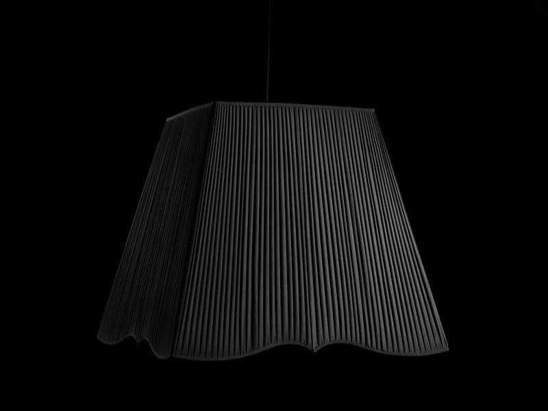 Fabric pendant lamp NOTTURNO 1 by Devon&Devon