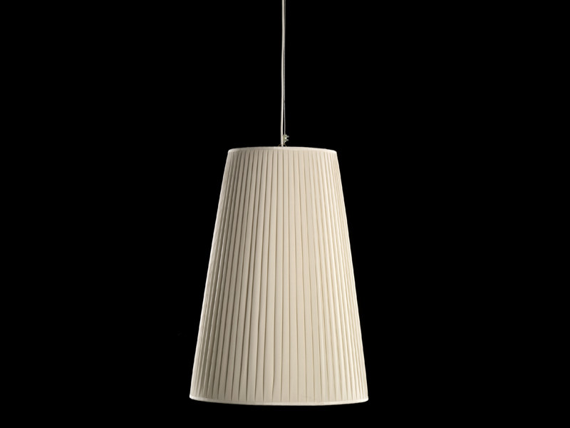 Fabric pendant lamp NOTTURNO 3 by Devon&Devon