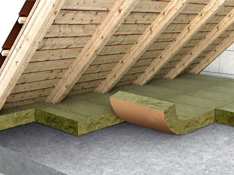 Rock wool thermal insulation felt ROULROCK KRAFT (121) by Rockwool Italia