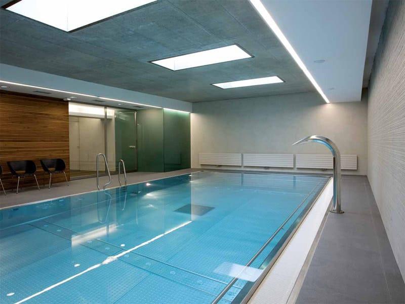 AQUÆ | Bordo per piscina in gres porcellanato Piscina Dolny Brezany - Repubblica Ceca
