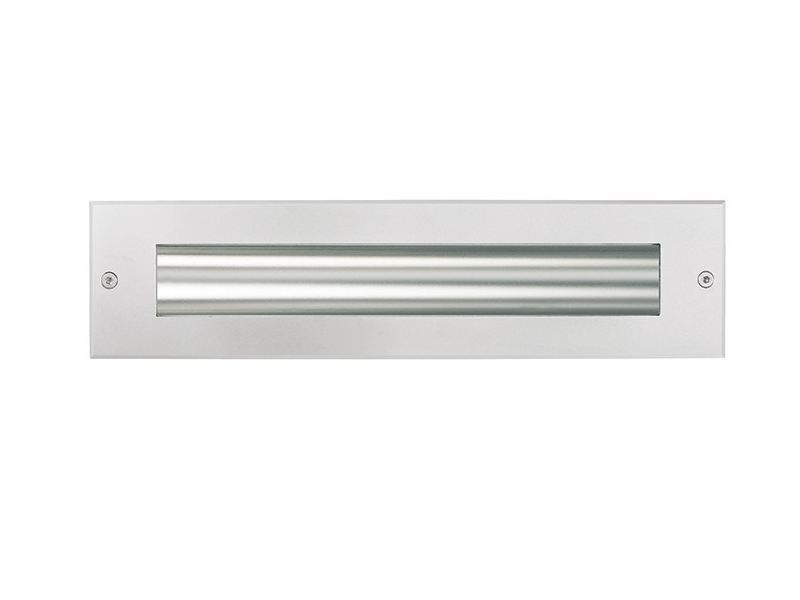 LED wall-mounted aluminium steplight TETRA INCASSO 360 | Steplight by Platek