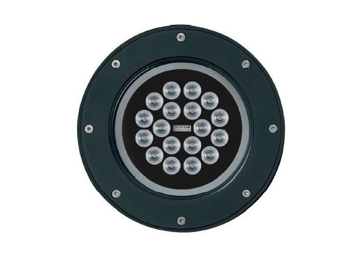 Proiettore per esterno a LED in alluminio ATLANTIQUE by Platek
