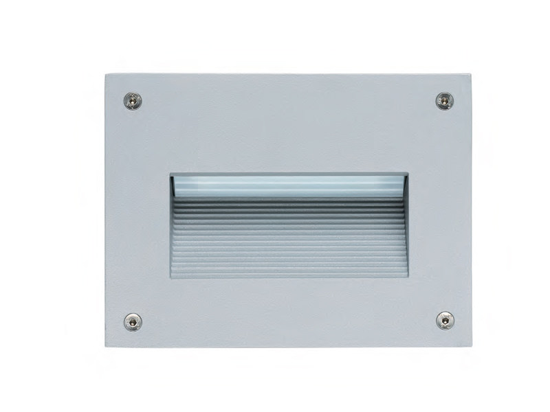 LED wall-mounted aluminium steplight PROMENADE 40 by Platek