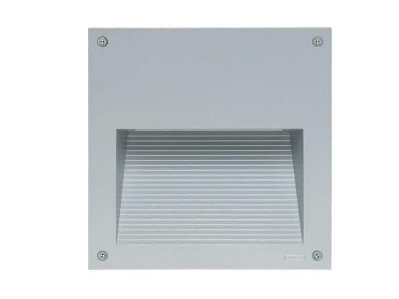 LED wall-mounted aluminium steplight PROMENADE 200 by Platek