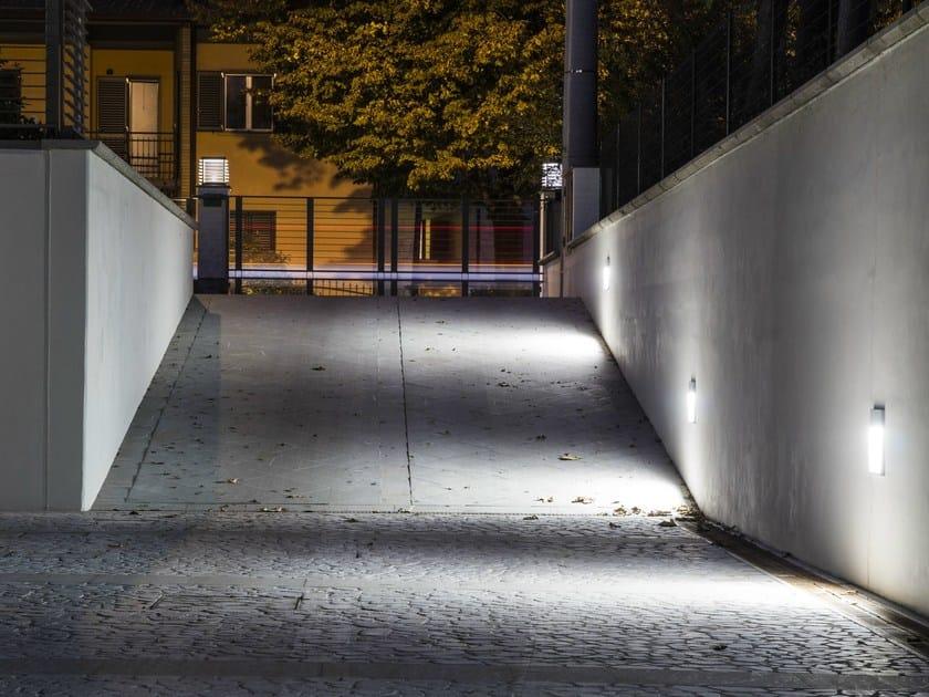 Promenade 200 Alluminio Led Segnapasso Parete A In Platek 8wO0mvNn