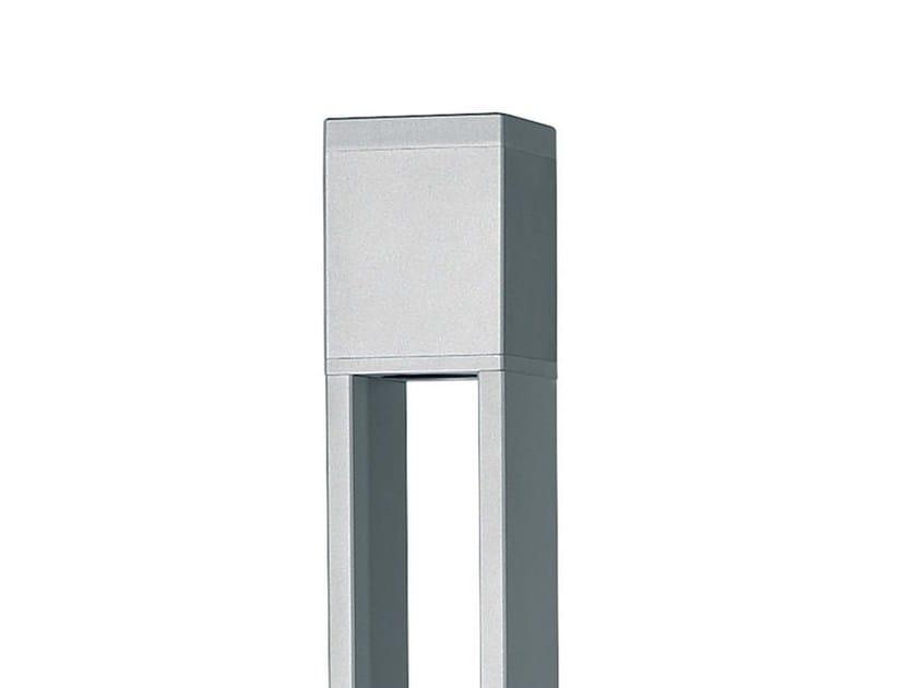 TETRA PARCO - particolare della testa in alluminio verniciata