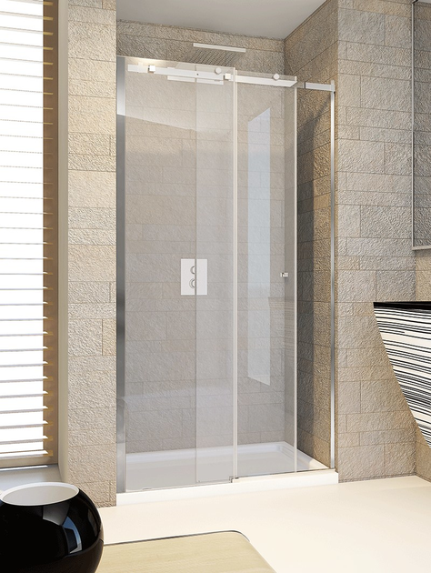 Shower cabin with sliding door AXIA SC1 by RELAX