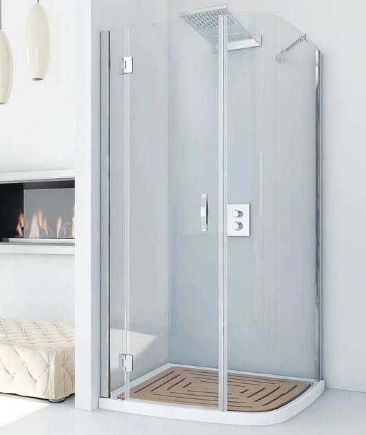 Shower cabin RIFLEXO 100x85 by RELAX