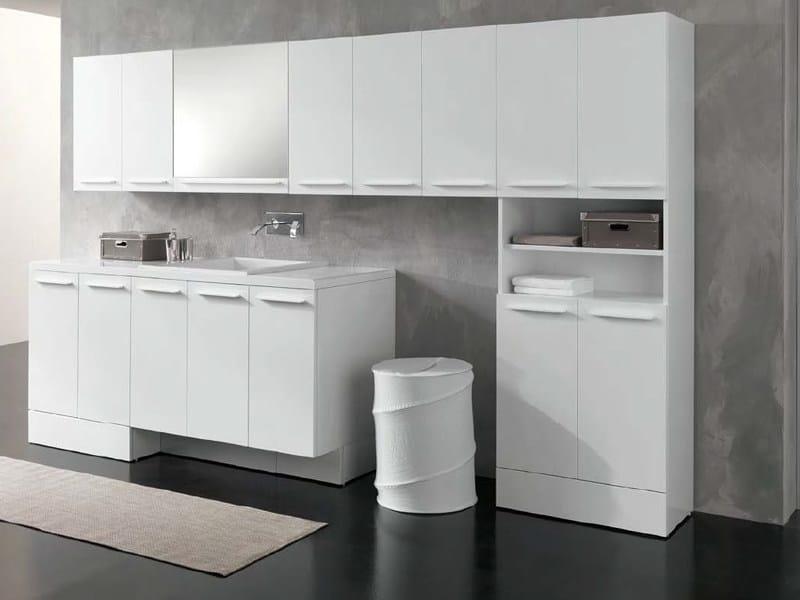 COMPACT Mobile lavanderia by GEROMIN GIUSEPPE design Franco Bertoli