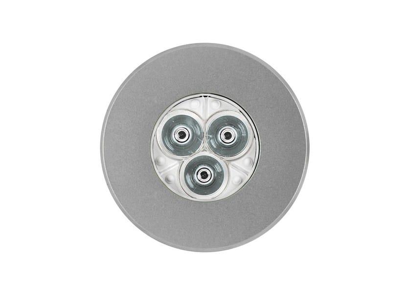 LED stainless steel underwater lamp for fountains MICRO STEEL | Underwater lamp for fountains by Platek