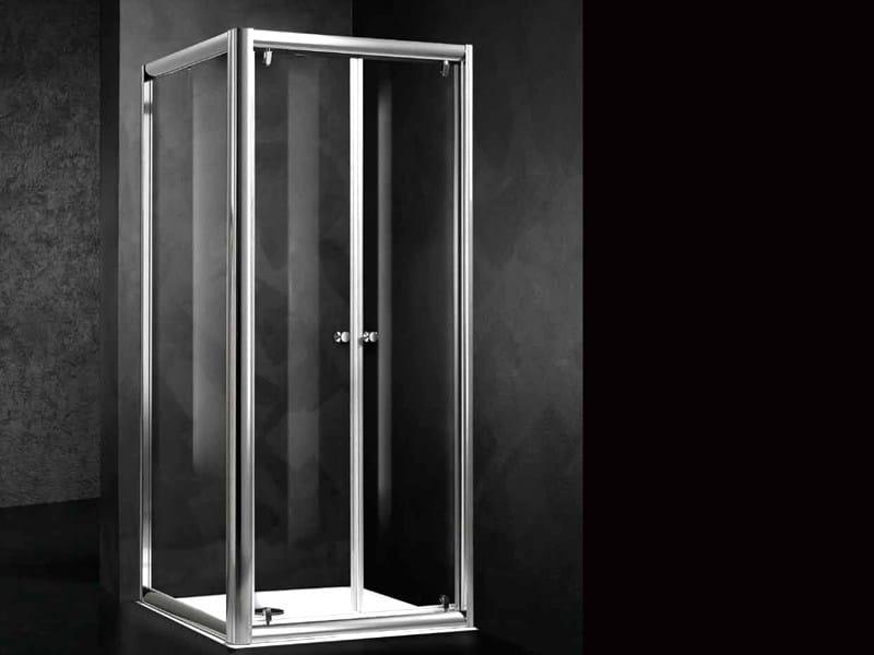 Corner shower cabin LOFT B2 + F by RELAX