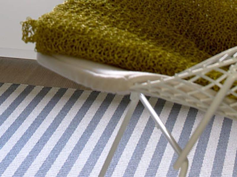 Striped handmade rectangular rug STRIPE by Woodnotes