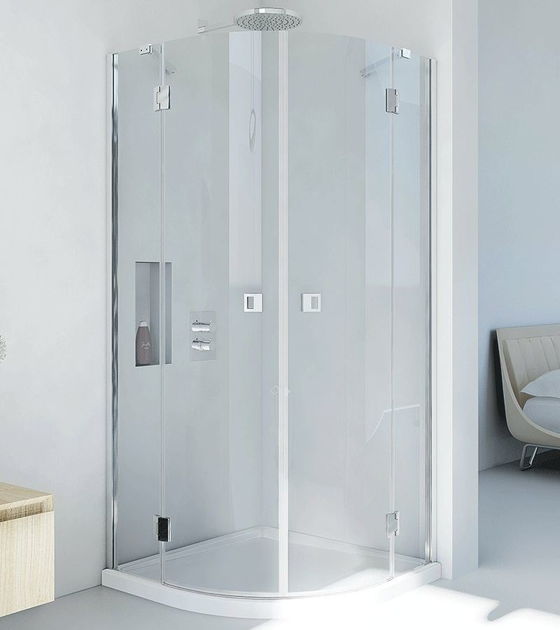 Crystal shower cabin PETRARCA RB by RELAX