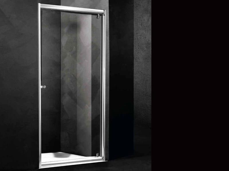 Niche shower cabin with pivot door LOFT B1 by RELAX