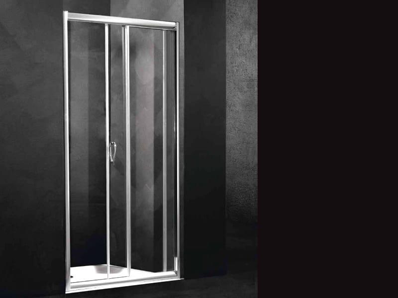Niche shower cabin with sliding door LOFT SC1 by RELAX