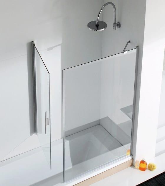 Bathtub wall panel LIGHT VP1 + VF1 by RELAX