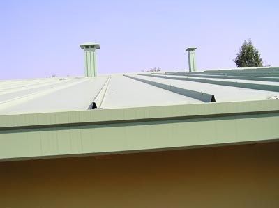 Continuous metal laminate for roof KAYAK® by ISCOM