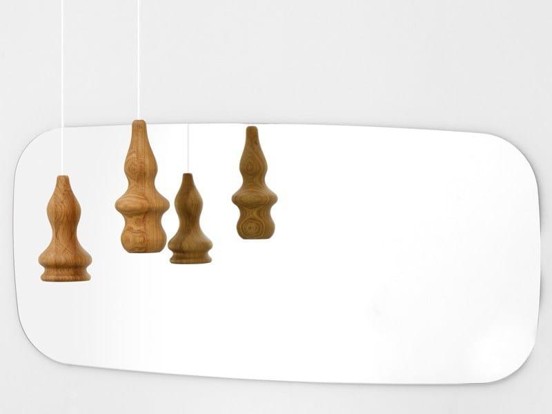 Handmade pendant lamp BLUB by Ex.t