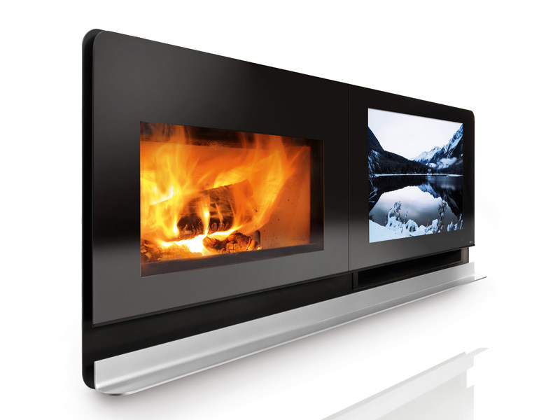 Glass Fireplace Mantel SCENARIO by MCZ GROUP