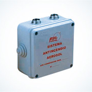 Component for fire-fighting systems BC-02 Connection Boxes by FIRECOM AUTOMOTIVE