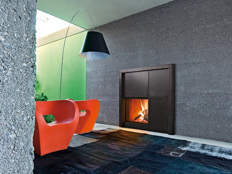 Steel Fireplace Mantel MATISSE by MCZ GROUP
