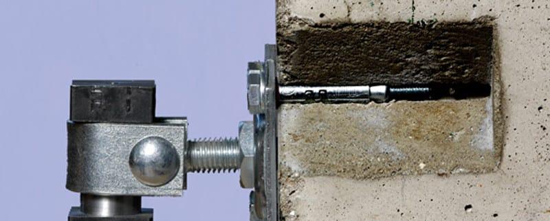 Galvanized steel Wall plug Fischer SLM by fischer italia