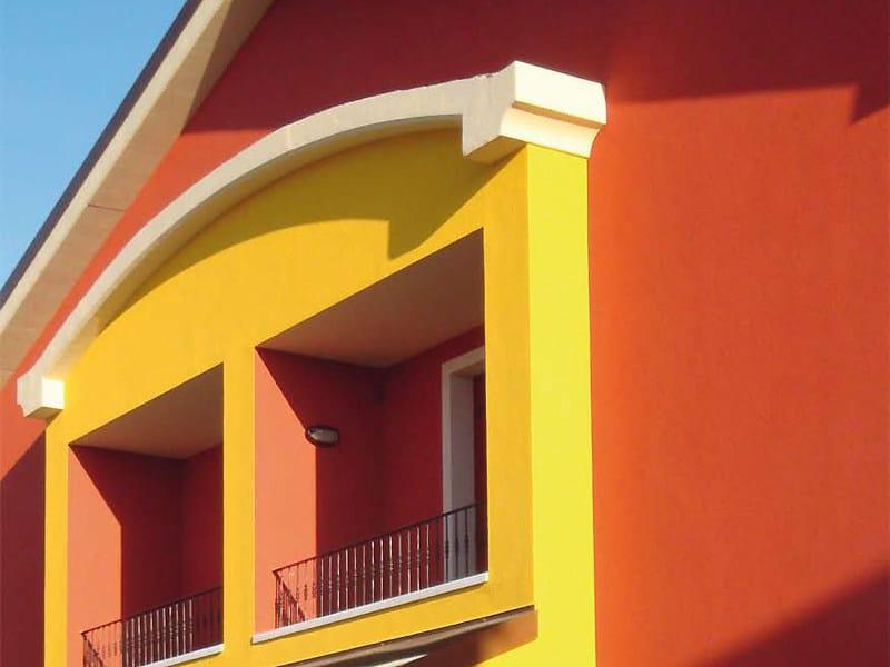 Cornice per facciate in EPS Arco decorativo
