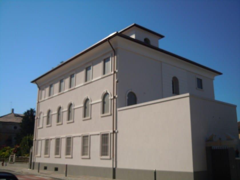 Cornice per facciate in EPS Restauro di un edificio residenziale di interesse storico