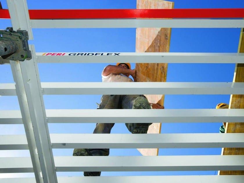 GRIDFLEX PERI GRIDFLEX - Una volta completato il montaggio, i graticci formano un impalcato di calpestio chiuso