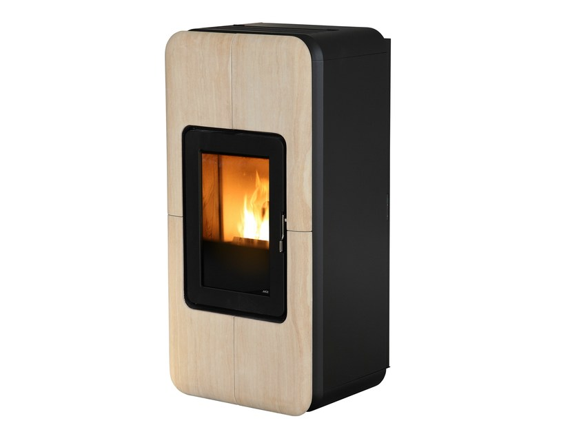 Pellet stove for air heating TOBA by MCZ GROUP