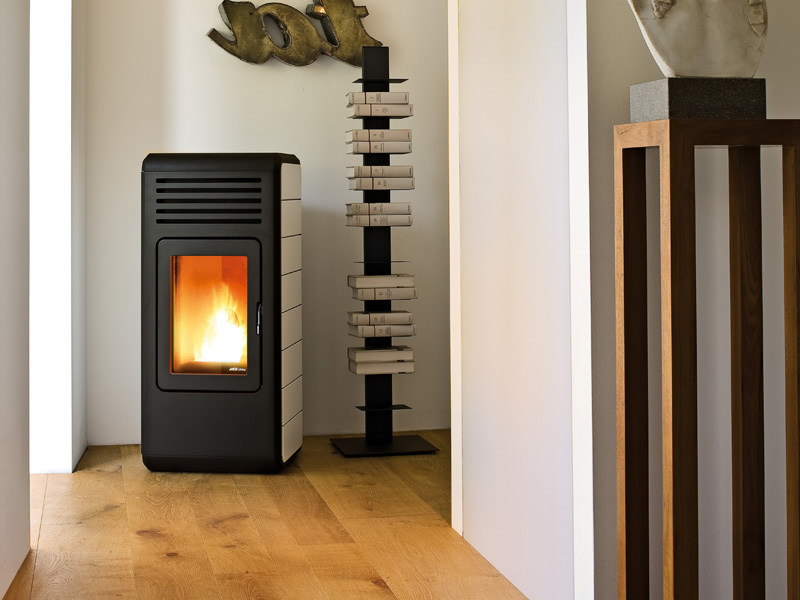 Pellet stove for air heating NIMA by MCZ GROUP