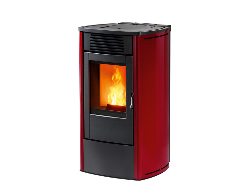 Pellet stove for air heating FACE by MCZ GROUP