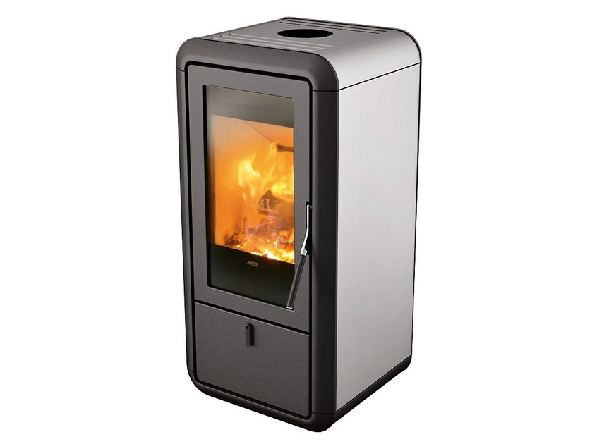Wood-burning stove for air heating KASAI by MCZ GROUP