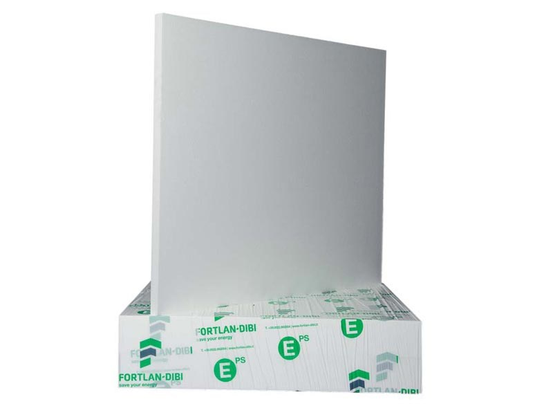 Thermal insulation polymer sheet and panel DBX 35 CAP by FORTLAN - DIBI