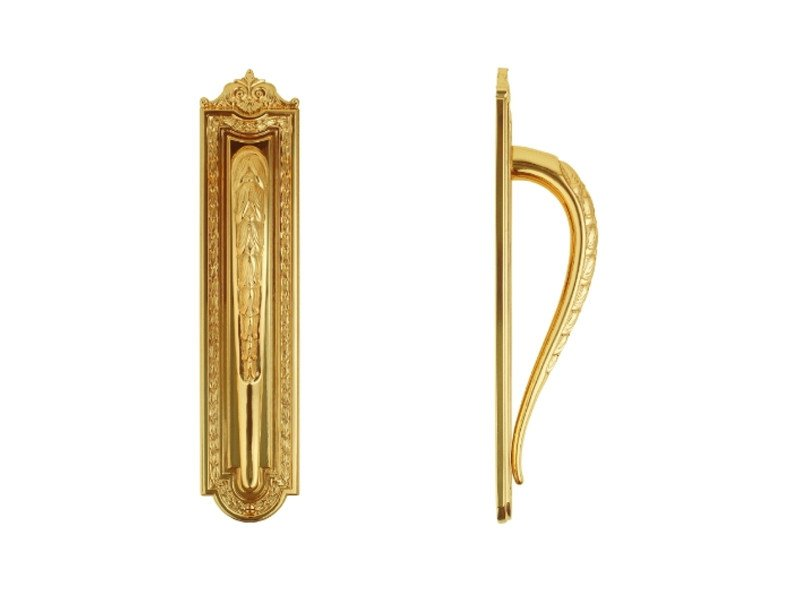 Classic style brass pull handle 715 | Pull handle by Enrico Cassina