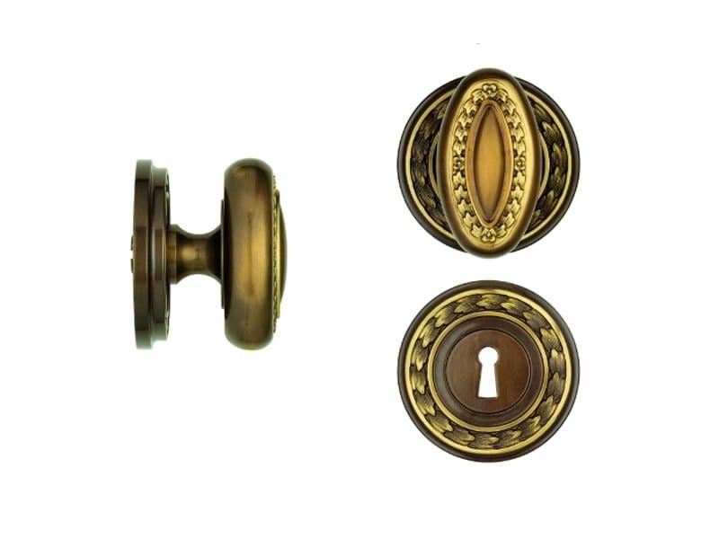 Classic style brass door knob 719 | Door knob by Enrico Cassina