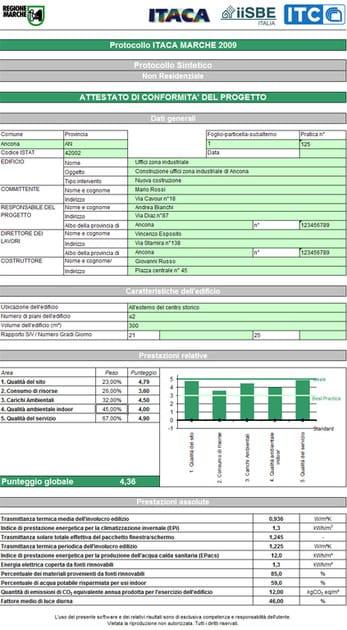 CERTIFICAZIONE AMBIENTALE CERTIFICAZIONE AMBIENTALE - Esportazione in excel