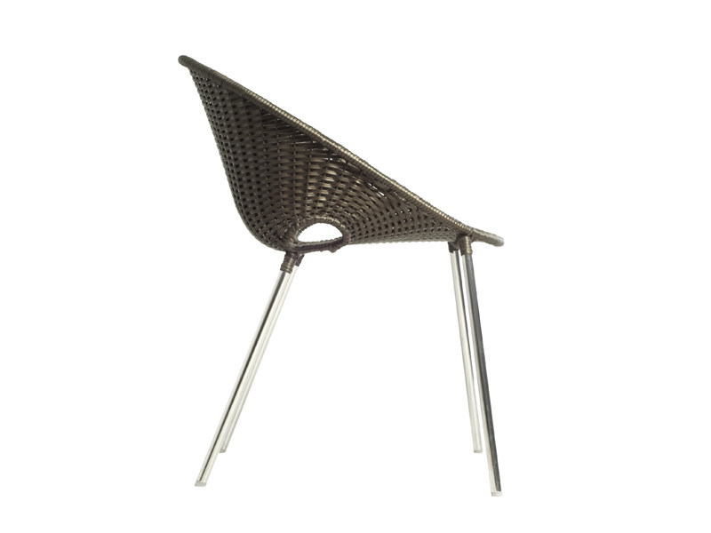 Stackable garden chair Garden chair by KENNETH COBONPUE