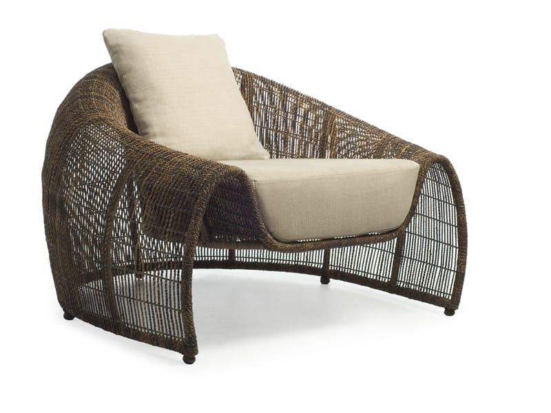Garden armchair CROISSANT | Garden armchair by KENNETH COBONPUE