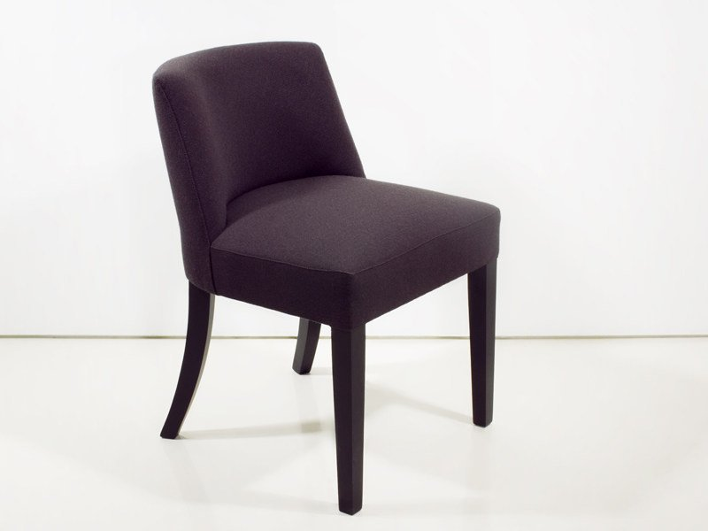 Upholstered fabric chair BORDEAUX by INTERNI EDITION