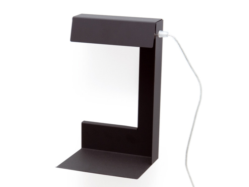 Powder coated steel wall lamp / table lamp LEFT OR RIGHT | Table lamp by KONSTANTIN SLAWINSKI