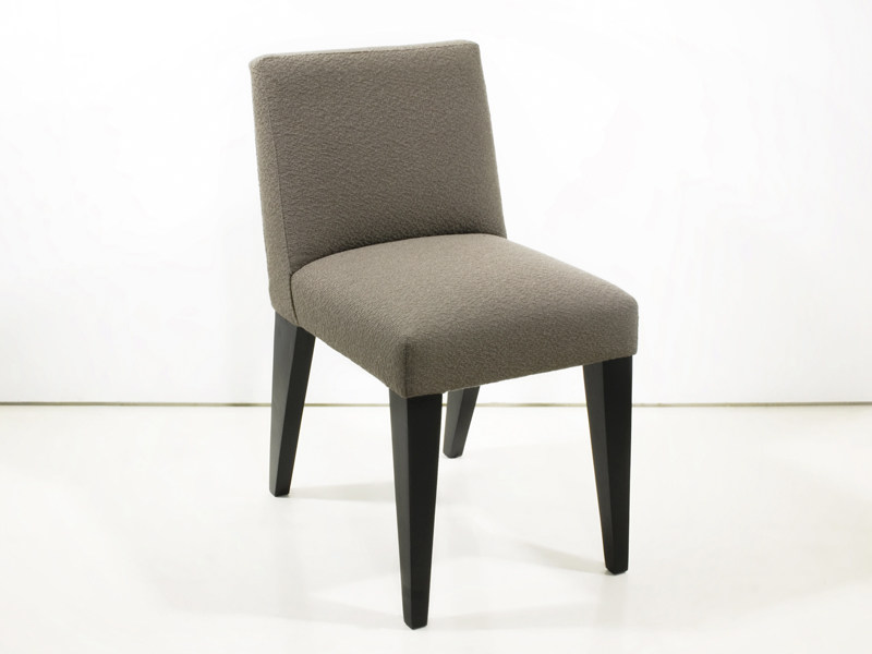 Upholstered fabric chair BRUSSELS by INTERNI EDITION