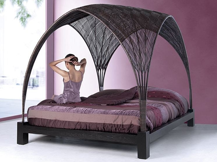 Canopy bed HAGIA | Canopy bed by KENNETH COBONPUE