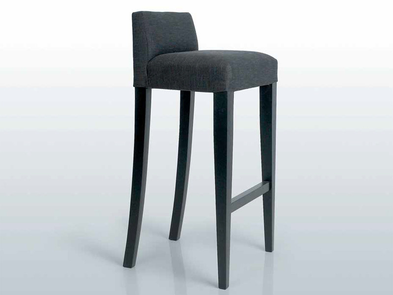Design upholstered fabric stool SEATON BARCHAIR by INTERNI EDITION