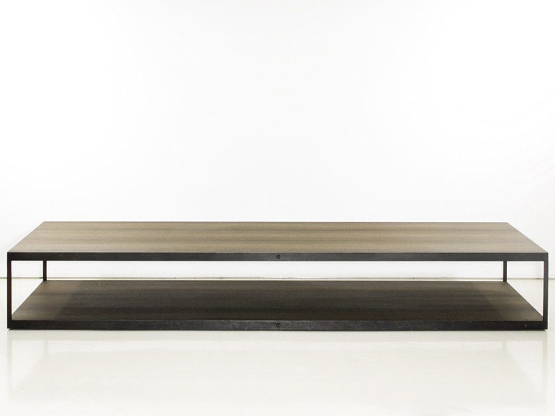 Low wooden coffee table ENTRE-DEUX | Coffee table by INTERNI EDITION