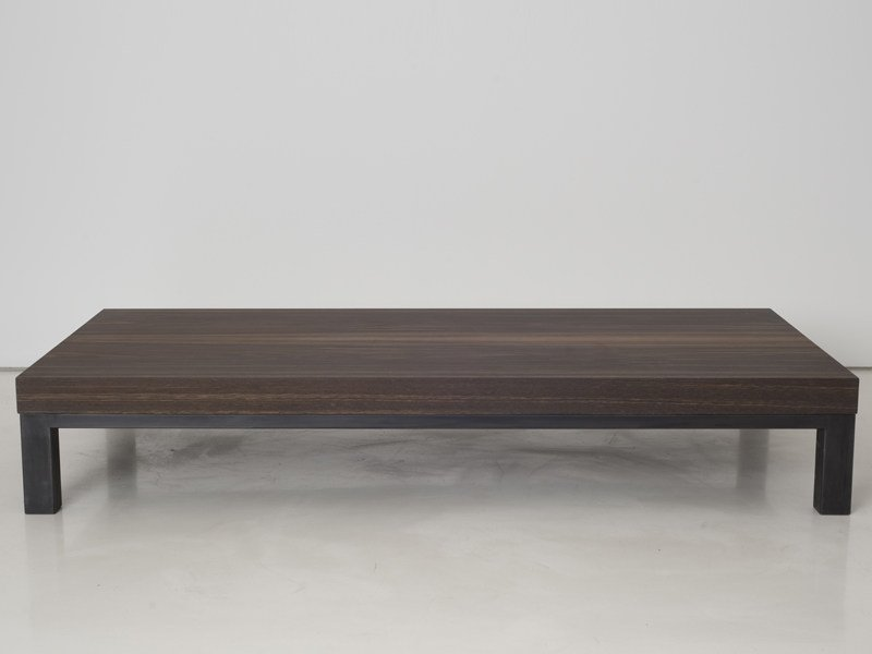 Low wooden coffee table GANDHI | Coffee table by INTERNI EDITION